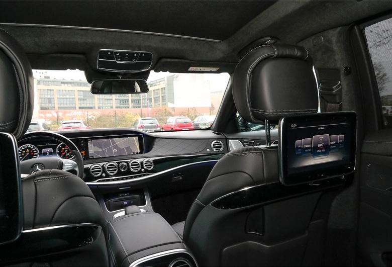 Mercede S-Klasse View | Mainhattan Limousines