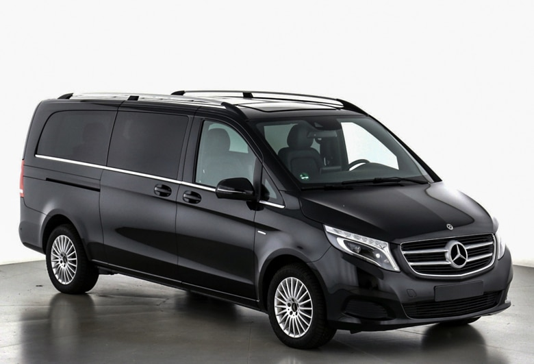 Seitenansicht V Klasse Extra Large - Mainhattan Limousines